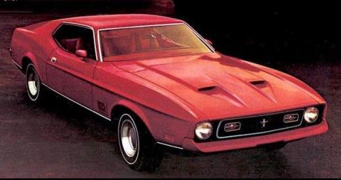 1972 Mustang Fastback Mach I Edition
